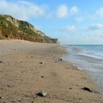 Branscombe beach - looking east