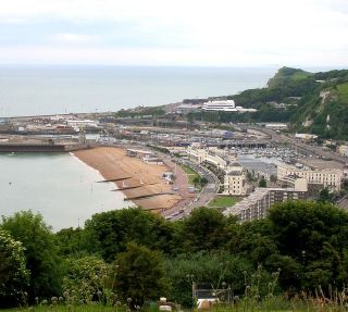Dover Harbour Beach