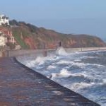 Seawall north of Dawlish