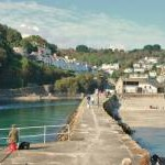 East Looe: Banjo Pier and Beach