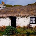 Niarbyl - Thatched cottage - Right half