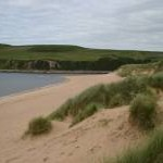 Dunes and beach at Melvich