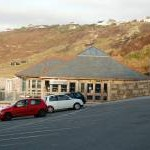The beachside cafe at Sennen Cove