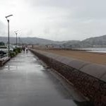Promenade and sea wall, Minehead
