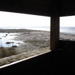 View from the birdwatching hide near Longmere Point