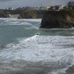 Newquay winter surfing