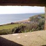 Hive Beach from the Pill Box