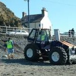Submersible tractor - Aberystwyth