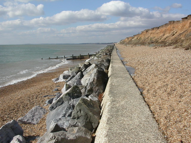 Milford-on-sea Beach - Hampshire
