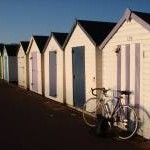 Beach huts, Broadsands Beach, near Churston