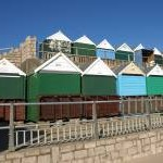 Beach huts, Southbourne