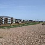 Flats overlooking Rustington Beach