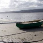 Boat by the bay, Arnside