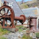 Winch and capstans at Cadgwith