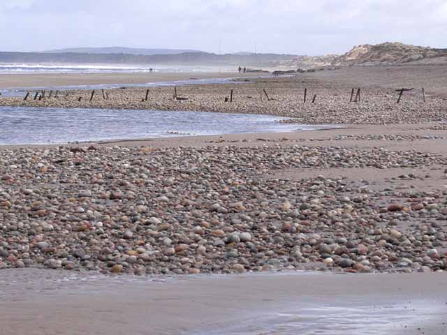 Findhorn Beach - Grampian