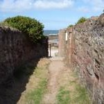 Dunbar Townscape : Running Down the Lane to the Sea