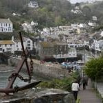 Path to Polperro, Cornwall