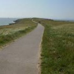 Path to Friars Point, Barry Island