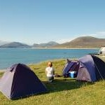 Camping at Horgabost