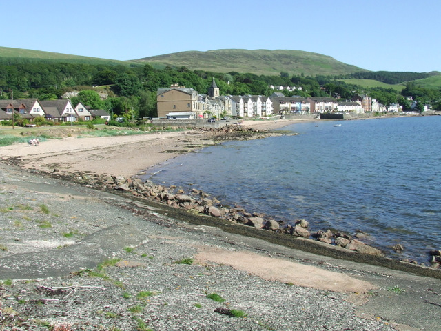 Fairlie Beach - Strathclyde