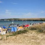 Studland beach and bay