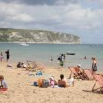 Swanage Beach and bay