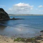 The beach at Lower Porthpean