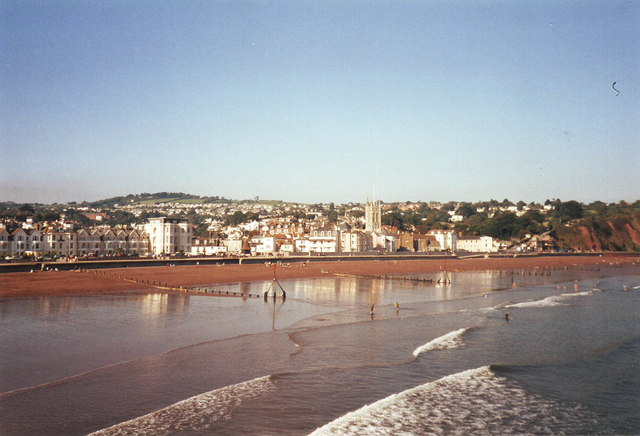 Teignmouth Beach - Devon