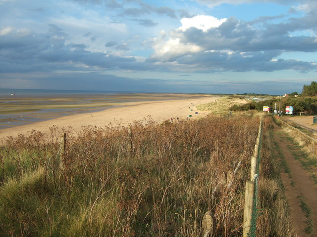 Old Hunstanton Beach - Norfolk