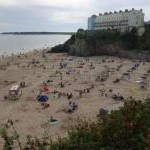 Castle Beach, Tenby