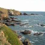Lizard Point and lifeboat station