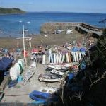 Boatyard and harbour, Gorran Haven
