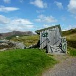 Community bird hide at Scourie