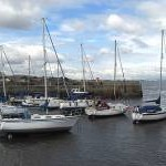Fisherrow Harbour near Musselburgh