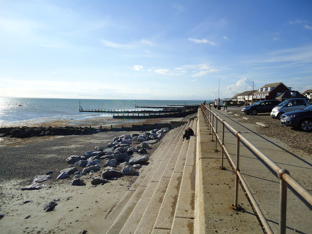 Selsey - Hillfield Road Beach - West Sussex