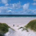 Dunes and beach - Traigh Eais