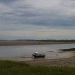 Laugharne: estuary
