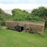 Cliff path pillbox