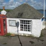 Telephone box in Portscatho