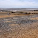 The beach at Rhyl