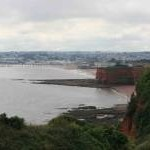 Hollicombe  and Paignton on a dull day