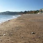 Seaton beach, looking West