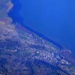 Whitehaven from the air