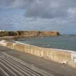 Coastal Berwickshire : The Esplanade at Eyemouth