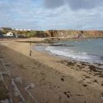 Coastal Berwickshire : The Beach at Eyemouth