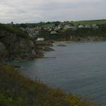 Gorran Haven: approaching from the south along the coast path