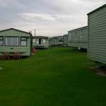 Serried rows of mobile homes, Clarach