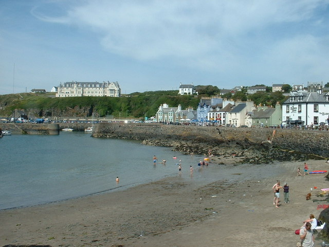 Portpatrick Beach - Dumfries and Galloway