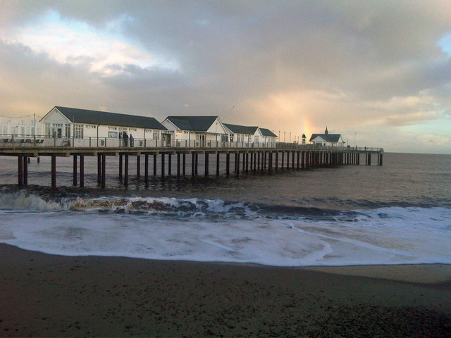 Southwold Pier Beach - Suffolk