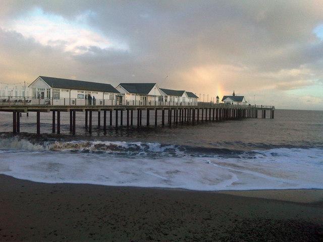 Southwold Pier Beach